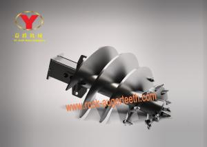 China Forging Processing Rock Drilling Auger Bits Abrasion Proof For Pebble Layer on sale