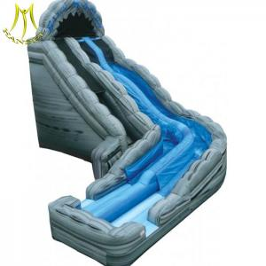 China Hansel colourful inflatable play area for children  giant inflatable jumping castle slide on sale