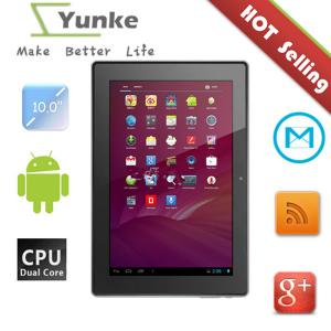 China cheap wifi tablet pc android 4.0 hdmi dual camera capacitive 1024*600 10.1inch RK3066 capacitive touch screen on sale
