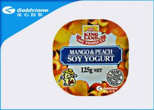 China Dairy Food Packaging Heat Seal Film for Jelly , Antifog Peelable Plastic Film on sale
