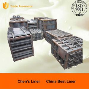 Quality Cr15Mo3 320 / 580 Ball Mill Liners , Grinding Mill Liners Hardness More Than for sale