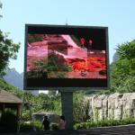 3.8V/40A High Brightness Led Outdoor Advertising Screens 9.1W Energy Saving Conservation P10