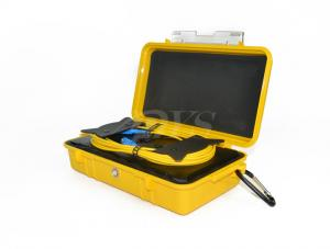China Water Resistant Fiber Optic Terminal Boxs , SC-SC OTDR Plastic Launch Cable Box on sale