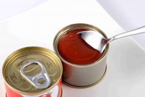 China Food Nature Puree Canned Tomato Paste Non Additives Canning Tomato Sauce on sale