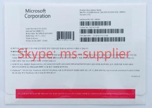China Windows 10 professional Korean 64 Bit DVD + OEM COA Key License Korean Language FQC -08983 on sale