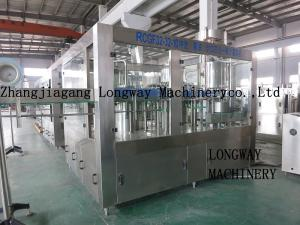 China Good quality Longway brand lemon/mango juice PET bottle making machine on sale