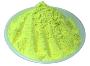 China Raw material Lemon-Yellow color fluorescent pigment for screen printing inks ,paints ,nail polish supplier