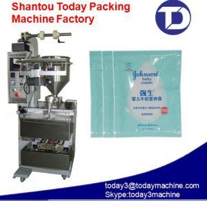 China square sachet liquid packaging machine for shampoo,honey,cream on sale
