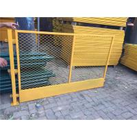 China Simple Temporary Metal Fencing / Welded Mesh Panel Fence For Temporary Works on sale