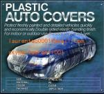 cubiertas plásticas del auto