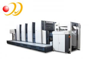 China Multicolor Color 4 Colors & Page And Offset Printer Type Printing Machine on sale