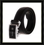 Stigmatisez la ceinture «Fuliter» mode noire véritable de casaul des ceintures en cuir de 228 hommes de vache