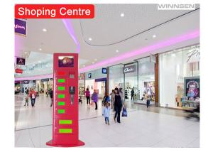 China CE FCC Cell Phone Charging Station Kiosk , Commercial Phone Charging Station on sale