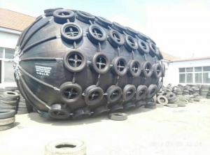 China Marine Inflatable Rubber Fender 4.5 Meters Diameter For Ship Alongside on sale