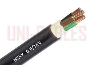 China 600 1000V Unarmoured Low Voltage Cable N2XY Acc . DIN VDE 0276 Black For Electricity Supply on sale
