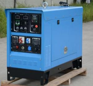 China Silent 10kva Kubota Diesel Welder Generator 400 Amperes Engine Dual Welding Machine AVR on sale