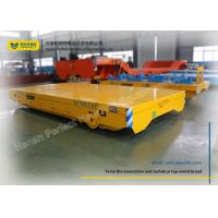 China Storaged Battery Industrial Transfer Trolley / Material Transfer Cart on sale