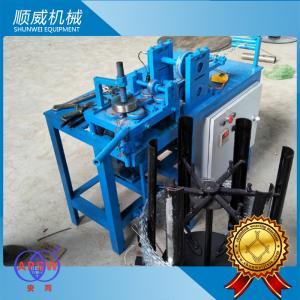 China 3KW Power Razor Barbed Wire Machine , Blade Barbed Razor Wire Machine on sale