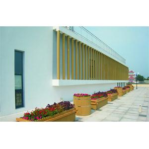 China Anti-UV WPC Outdoor Furniture , WPC Flower Pot For Decoration on sale