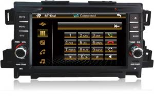 China inch 2 Din Mazda CX-5 Car DVD Player with GPS/USB/SD/Buletooth/IPOD on sale