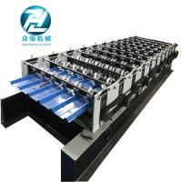 Arch Color Coated Corrugated Iron Sheet Making Machine 8m / Min Processing Speed