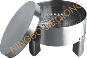 China TKD8046B Stainless Steel Round Fire Pit Brazier on sale