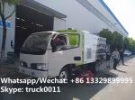 CLW 2017 best offer price of street road sweeper truck mounted with sweeping deputy engine, road sweeping vehicle