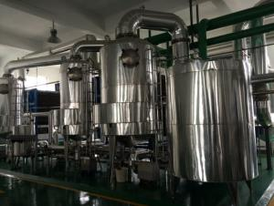 China Juice Concentrate Phe Plate Heat Exchanger For Multi Effect Evaporation Plant Saving Energy on sale
