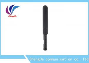 China 2.4G / 5.8G 3dBi Short Rubber Antenna , Rubber Car Antenna With RP - SAM Plug on sale