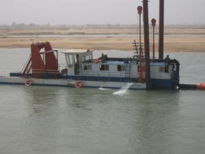 China cutter suction type iron ore dredging boat on sale