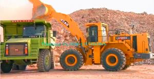 China Heavy Load 12ton Large Wheel Loader XCMG LW1200K with 6.5m3 Rock Bucket use imported 418kw Cummins Engine on sale