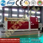 Máquina de rolamento hidráulica da placa do rolo de /4 da máquina de rolamento da placa do CNC com padrão do CE