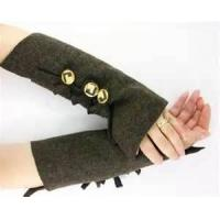 China Funky ladies braided knit arm warmer pattern warmer fur fingerless gloves on sale