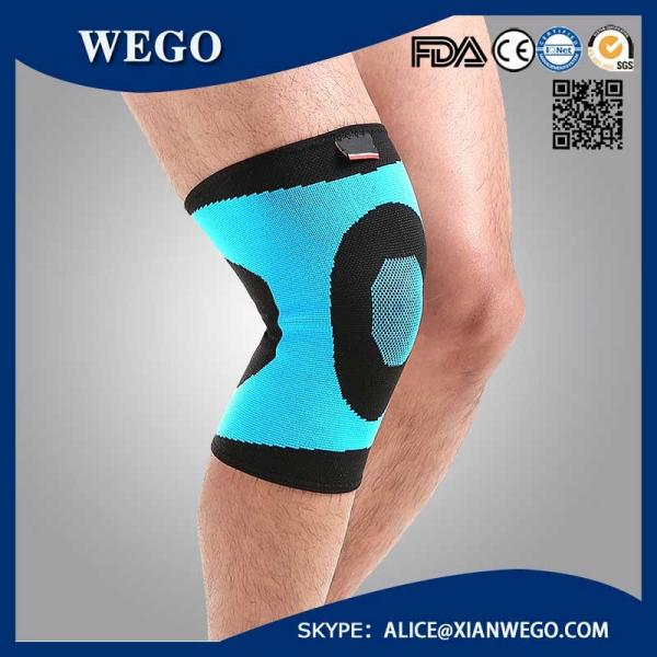 5ac2ba862d Running Fitness Sports Leg Knee Protector Pad Sleeve Compression Sleeve  Support Images