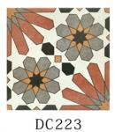 200*200 mm Decorative Glazed Ceramic Tile / Living Room Floor Tiles