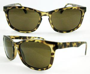 China Plastic Sunglasses, Fashion Sunglasses with AC lens, UV400 Protection on sale