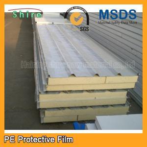 China Galvanized Sheet Metal Protective film PPGI & PPGL Rolls automotive transport protection film on sale