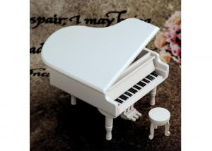 China Home Decoration Wooden Crafted Gifts Piano / Wooden Music Box For Birthday Gift on sale
