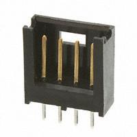 pin header, single row female pin header, 4pin header,TE Connectivity 4P straight pin HEAD