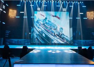 China P3.91 Stage Rental LED Display Wide Viewing Angle LED Video Wall 1920Hz on sale