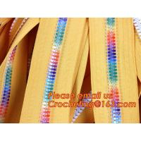 zipper manufacturer wholesale 5# metal brass ykk zipper two open end zipper double zipper sliders garment