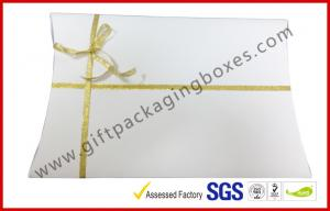 China Cardboard Envelope Drawer Apparel Gift Boxes , A4 B5 Document Card Board Packaging on sale