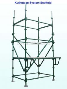 China Painting Kwikstage Scaffolding System , Quick Stage Scaffolding on sale