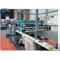 China Single Screw Plastic Sheet Extrusion Line , PP / PE / PVC Sheet Manufacturing Machine on sale
