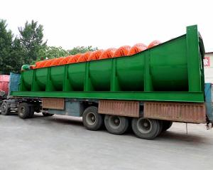 China Spiral Classifier for  Ore Dressing Plant / Iron Ore Beneficiation Spiral Classifier on sale