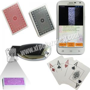 China Royal Big Number Wide Size Side Barcode Marked Poker Cards For Poker Predictor on sale