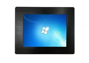 China DC 12V Resistive Touch Monitor 1024 X 768 Resolution With Membrane Switch on sale
