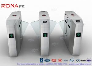 China Anti - Reverse Retractable Turnstile Barrier Gate RS232 /  RS485 550mm Passage Width on sale