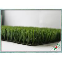 Natural Looking Synthetic Football Artificial Grass Lawn Turf Carpet Straight Yarn Type