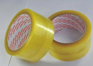China BOPP Packing Tape with acrylic and pressure sensitive adhesive for bundling and strapping on sale